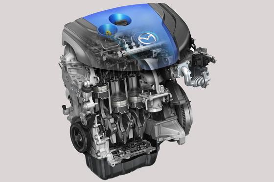 Mazda SKYACTIV-D Motor