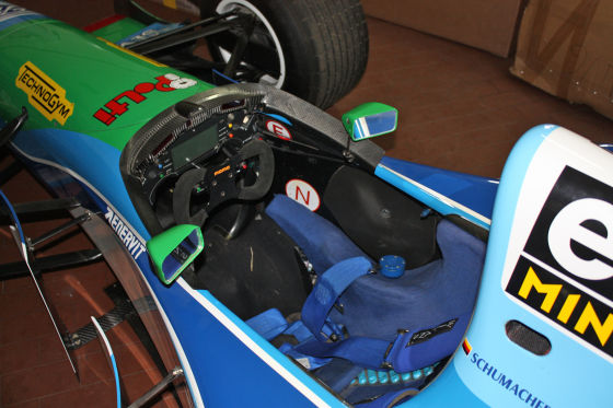 Benetton-Ford F1 B194-8 Cockpit
