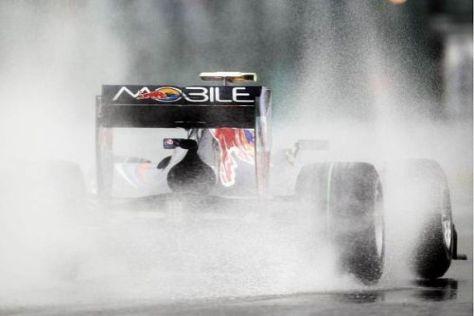 Red Bull steht in der ersten Startreihe und wünscht sich kein Regenrennen