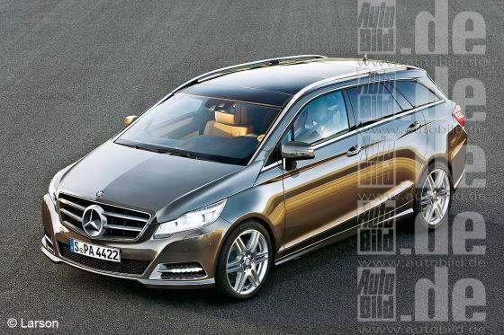 Mercedes GST Illustration