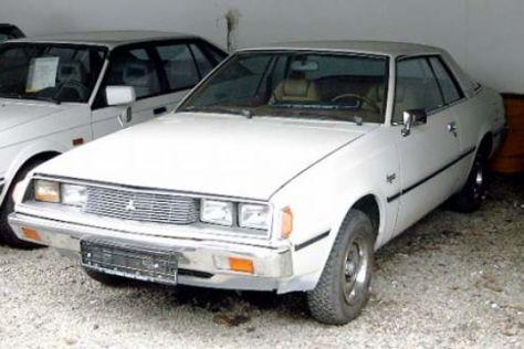 youngtimer mitsubishi sapporo: auto bild-archiv-artikel 48/1986