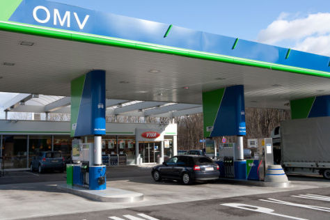 OMV-Tankstelle