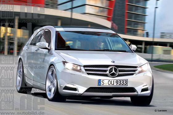 Mercedes A-Klasse Illustration
