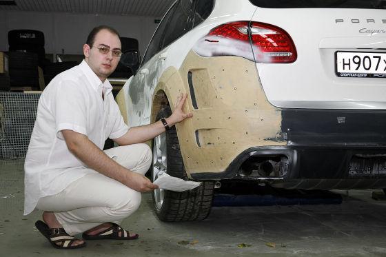 Topcar-Bodykit für den neuen Cayenne