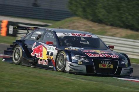 Mattias Ekström startet als bestplatzierter Audi-Pilot von P3