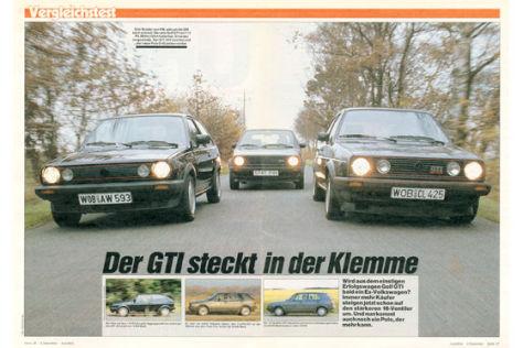Polo GTI, Golf GTI, Golf 16 V
