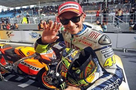 Valentino Rossi freut sich auf eine für seine Karriere sehr wichtige Woche