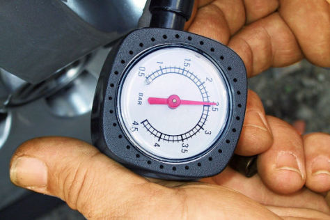 Luftdruckkontrolle