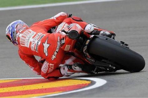 Casey Stoner will sich mit einem Topergebnis von Ducati verabschieden