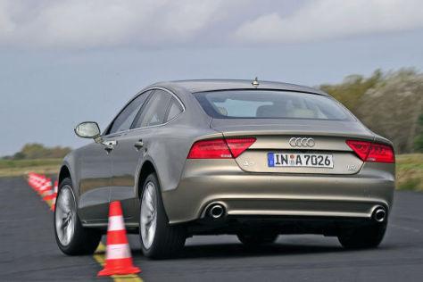 erster test audi a7 sportback 3.0 tdi - autobild.de