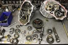 Schaltgetriebe-Reparatur