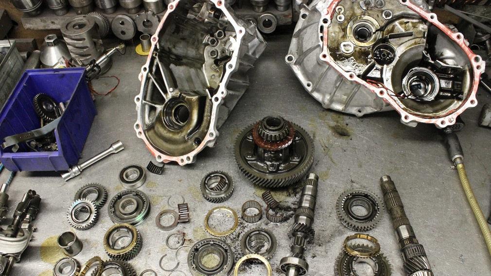 Getriebe-Reparatur