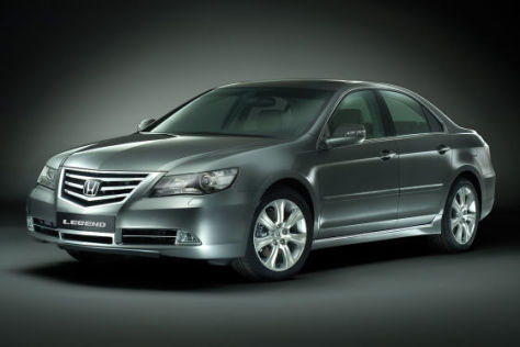 Honda Legend Facelift (2009)