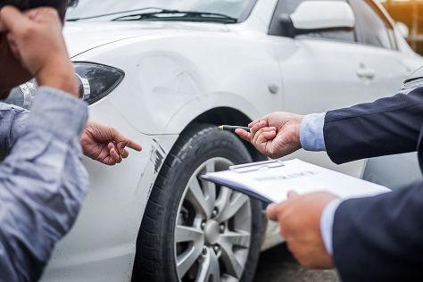 Autounfall - Autoversicherung