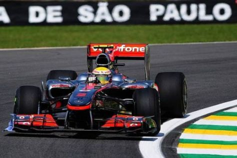 Lewis Hamilton ist optimistisch, im Regen um die Pole fahren zu können
