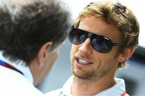 Glück gehabt: Jenson Button wurde bei dem bewaffneten Überfall nicht verletzt