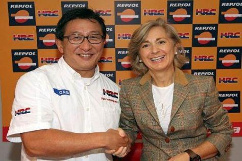 Weitere zwei Jahre Partner: Tetsuo Suzuki und Begoña Elices