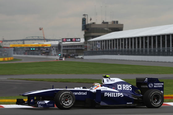 Nico Hülkenberg im Williams auf der Strecke