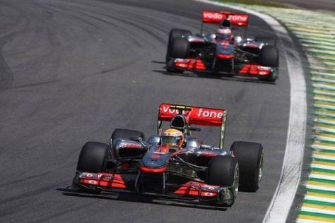 Lewis Hamilton und Jenson Button sind 2010 nicht die Konstrukteurs-Weltmeister