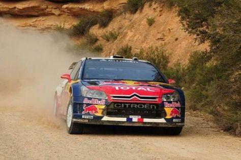 Sébastien Loeb bestreitet seine letzte Rallye mit dem erfolgreichen C4 WRC