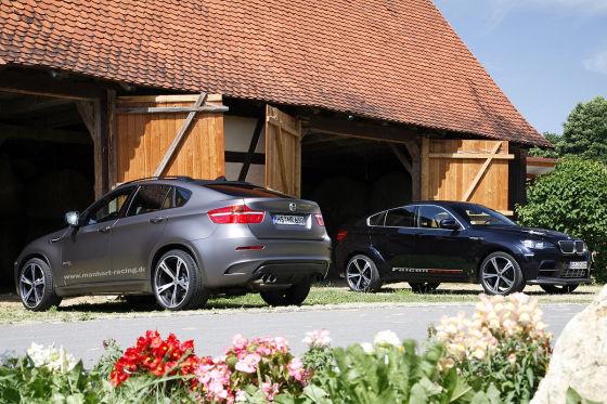 BMW X6 M von AC Schnitzer und Manhart im Vergleich