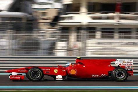 Fernando Alonso ist mit seiner Ausgangslage für den Grand Prix sehr zufrieden