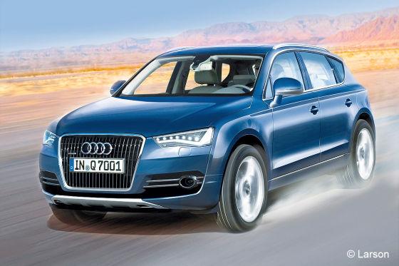 Audi Q7 Illustration