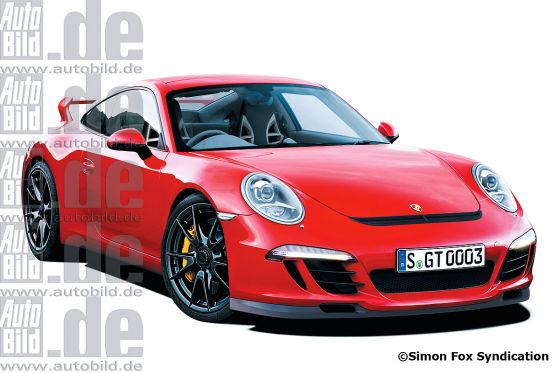 Porsche 911 Turbo (Illustration)