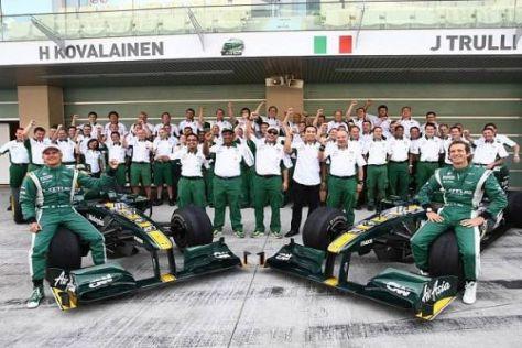 Heikki Kovalainen und Jarno Trulli sollen auch 2011 für Lotus fahren