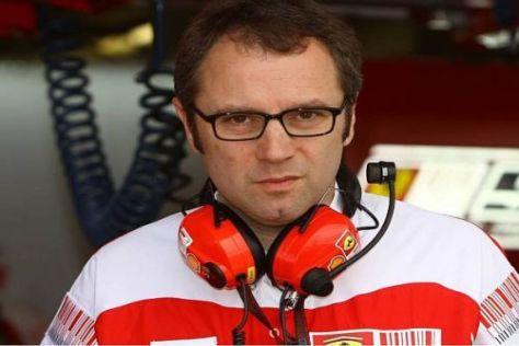 Teamchef Stefano Domenicali steht seit dem Wochenende in der Kritik