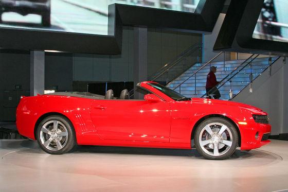 Ami-Schnäpchen: Der Chevrolet Camaro soll in den USA als Cabrio rund 30.000 Dollar kosten.
