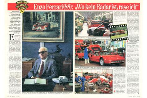 Zu Gast bei Ferrari