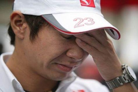 Kein Grund zur Sorge: Kamui Kobayashi war eine der Entdeckungen der Saison