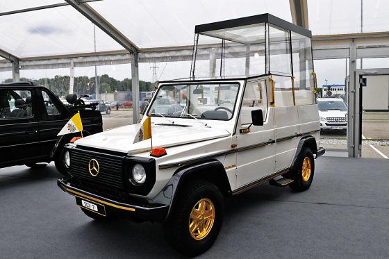 Mercedes-Benz 230 G Papamobil