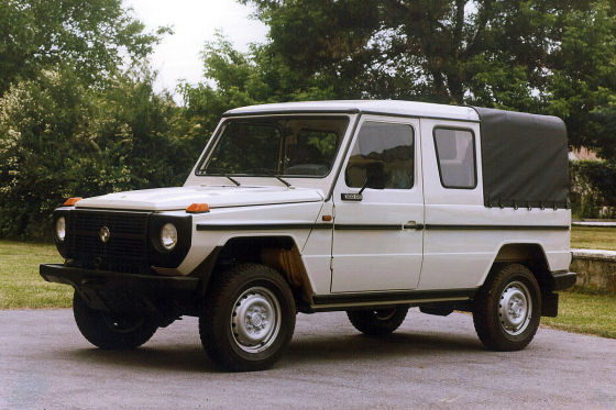 Mercedes G Pick-up