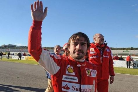 Fernando Alonso will 2011 mit neuem Schwung in den Titelkampf starten
