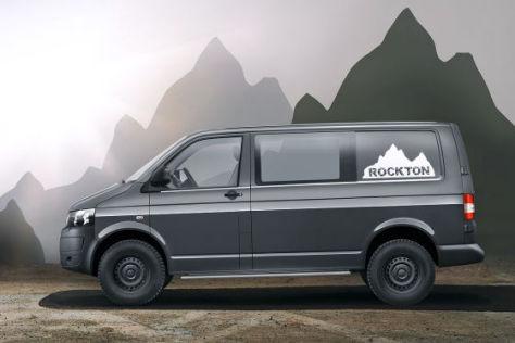 VW Rockton: Der Bus fürs Grobe - autobild.de