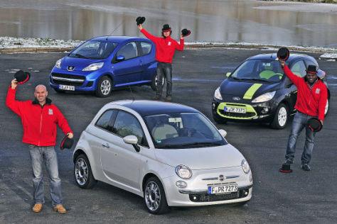 Kleinwagen Vergleich Ford Ka Gegen Fiat  Und Peugeot  Autobild De