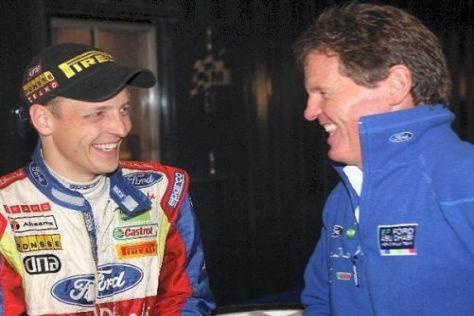 Mikko Hirvonen bekommt die volle Unterstützung von Teamchef Wilson