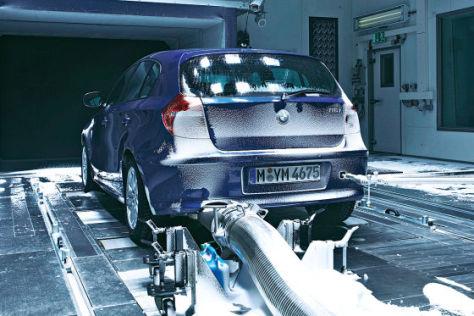 Bmw 1er Im Kälte Und Klimatest Autobildde