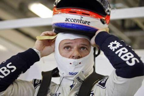 Rubens Barrichello findet, dass es langsam zu viele Knöpfe am Lenkrad gibt