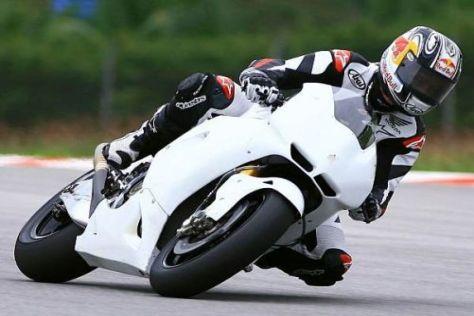Jonathan Rea fühlte sich auf der Honda RC212V gegen Ende immer wohler