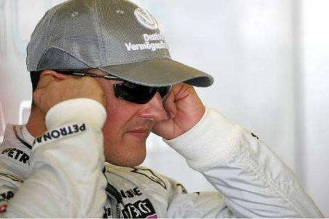 Michael Schumacher brennt schon auf die kommende Formel-1-Saison