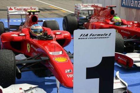 Fernando Alonso empfindet sich offenbar jederzeit als klare Nummer eins