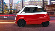 Microlino: Isetta-Erbe mit Elektroantrieb