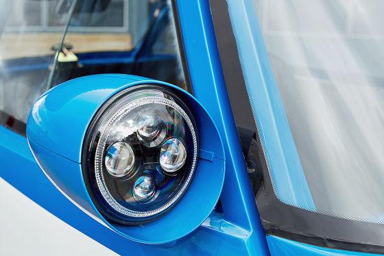 Retro-Isetta mit Elektroantrieb