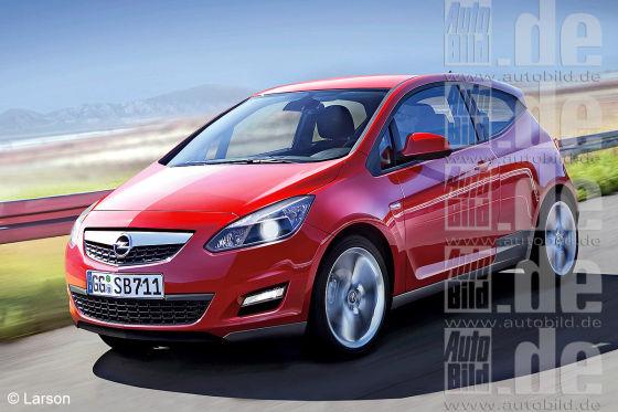 Heilsbringer? In den für 2012 geplanten Opel-Mini Junior setzt die Makre mit dem Blitz große Hoffnung.