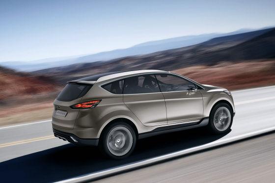 Ford Vertrek Concept Car (2011)