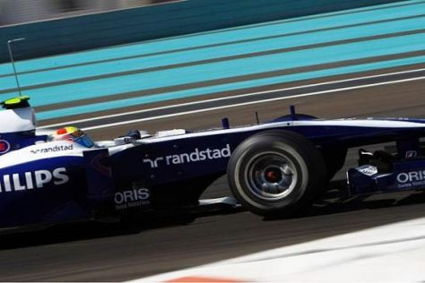 Der Venezolaner Pastor Maldonado wird seinen Williams in Caracas pilotieren