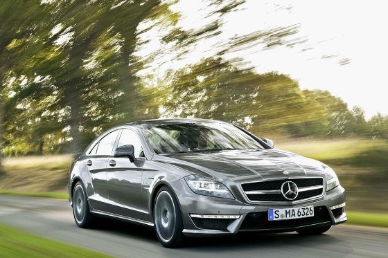 Mercedes CLS 63 AMG